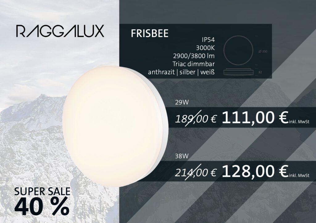 Raggalux Frisbee Sale